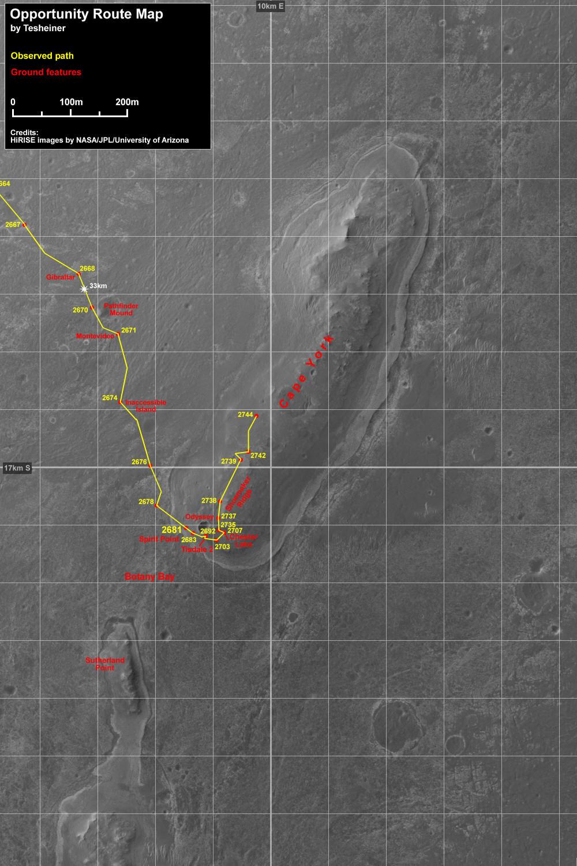 Opportunity et l'exploration du cratère Endeavour - Page 3 Index