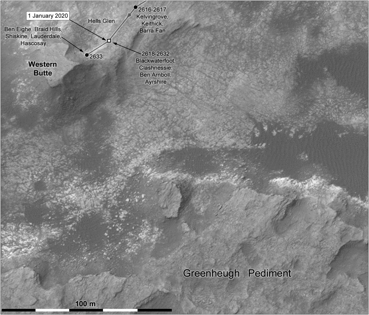 MARS: CURIOSITY u krateru  GALE Vol II. - Page 13 Index