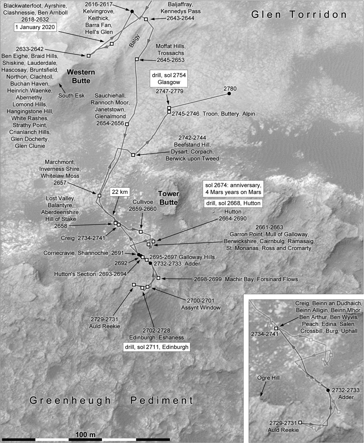 MARS: CURIOSITY u krateru  GALE Vol II. - Page 24 Index
